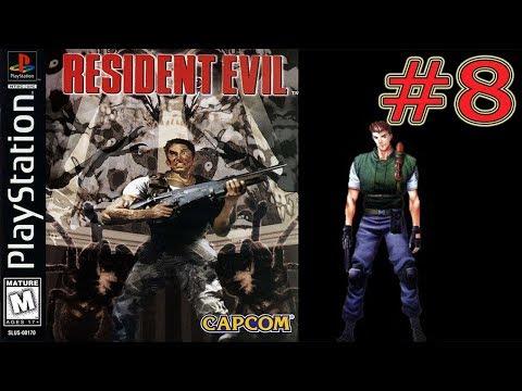 Resident Evil (PS1) Прохождение за Криса #8 Встреча с Энрикой