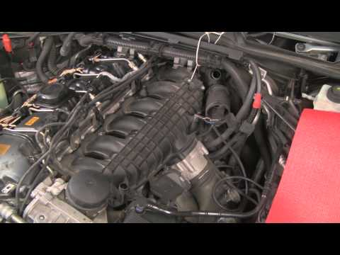 Bmw Removing Intake Manifold Replacing Crankshaft Sensor E90 E91 E92 E93 Funnydog Tv