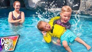 Teaching Him How To Swim! 🏊♂️ Finn's NEW Swim Teacher!