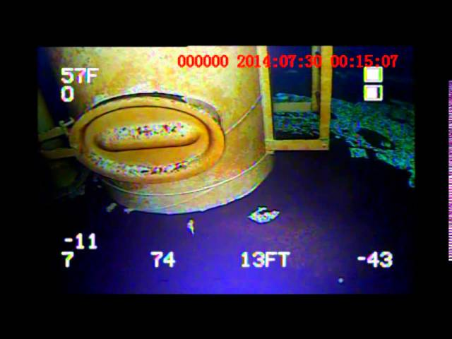Potable Water Tower Inspection with Deep Trekker Remotely Operated Vehicle (ROV)