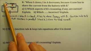 ap physics 1 2 circuits 24 reasoning questions 1 adding a resistor in parallel
