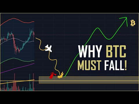 Why Bitcoin Will Drop To $12k Before 2021????