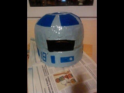Como hacer un casco para un disfraz