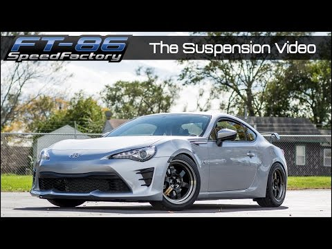 FT86SpeedFactory - Complete Suspension Guide