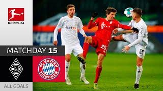 5 Goal Thriller | Borussia M'gladbach - FC Bayern München | 3-2 | All Goals | Matchday 15