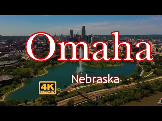 Aerial Tour of Omaha Nebraska