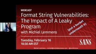 Format String Vulnerabilities – The Impact Of A Leaky Program