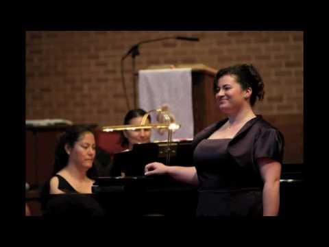 """""""Canción de ruiseñor"""" by Amadeo Vives  In my Spanish set from my Junior Recital 01 May 2010."""