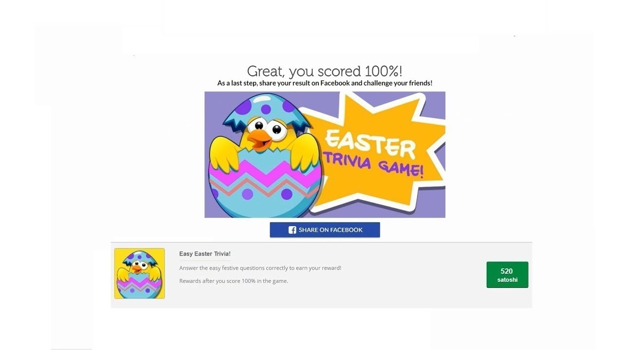 Easy Easter Trivial by Styl Cash