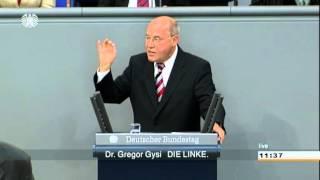 Gregor Gysi, DIE LINKE: Reichtum umFAIRteilen - in Deutschland und Europa