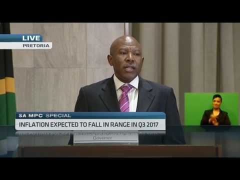 S.A's central bank leaves repo rate unchanged at 7%
