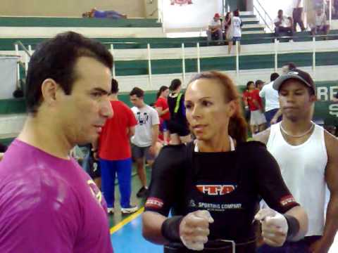Campeonato Paulista de Supino Itú 2010. Atleta Teresa