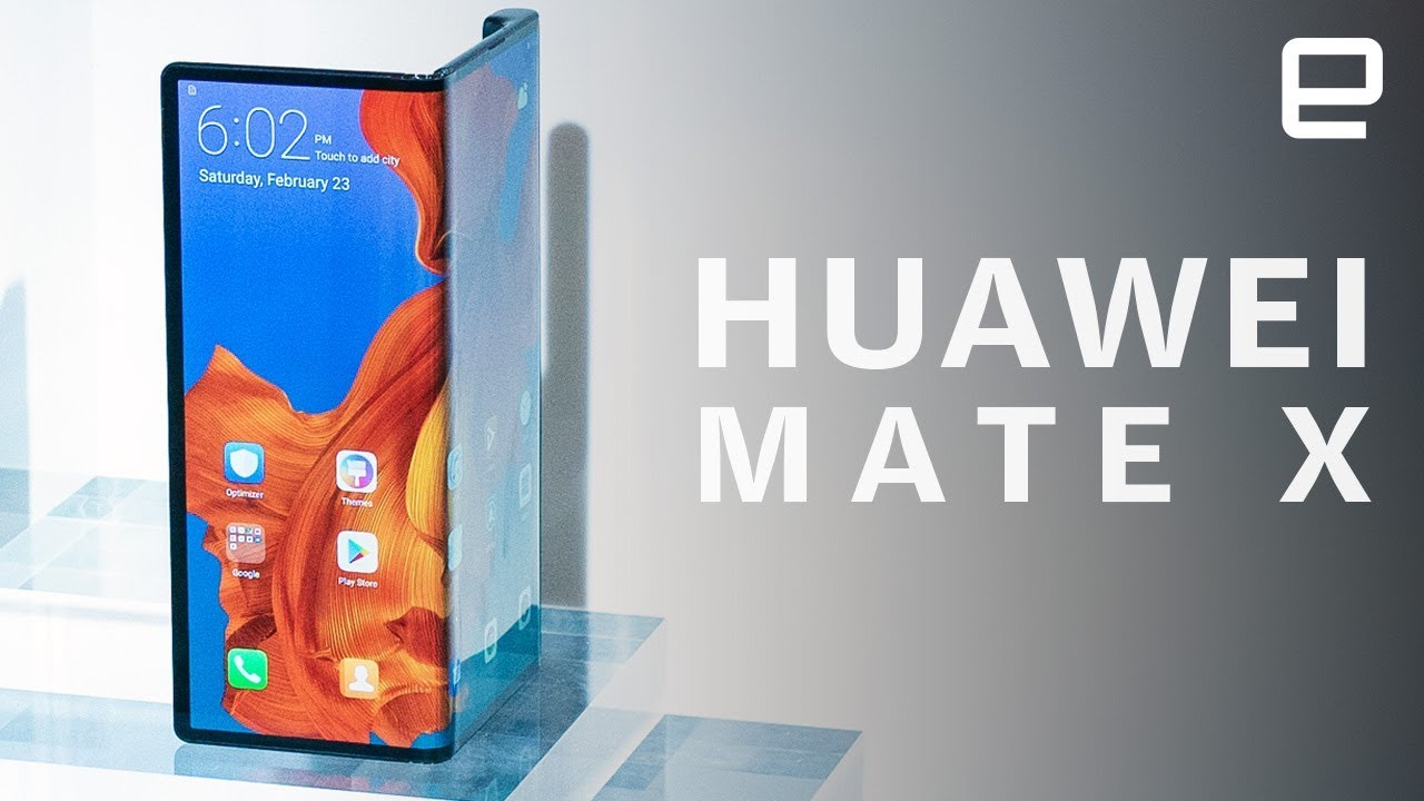 Huawei's foldable Mate X First Look at MWC 2019: Samsung's Galaxy Fold rival