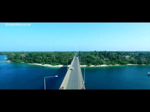 ABOVE KILIFI BRIDGE