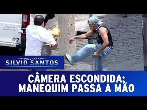 Câmeras Escondidas: Manequim passa a mão