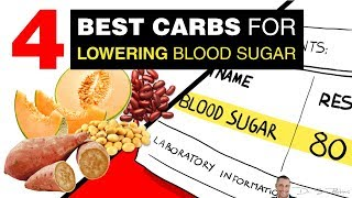 🌿 4 Best Carbs For Lowering [ BLOOD SUGAR ] 👈