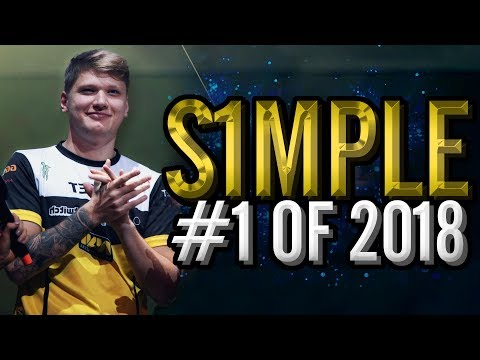 s1mple - The BEST CS:GO Player In The World! - HLTV.org's #1 Of 2018