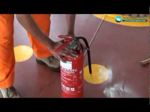 FIRE EXTINGUISHER MAINTENACE MERCHANT NAVY