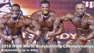2016 ifbb world championships bodybuilding up to 85kg