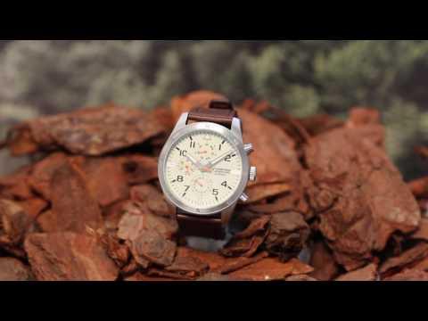 c4405df11 Armitron Adventure- Analog Watch with Dark Brown Leather Strap - YouTube