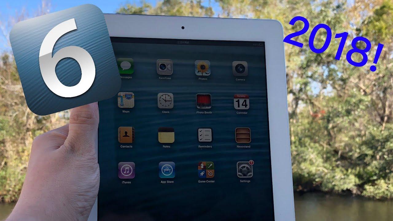 Downgrade iPad 2 to iOS 6 2018, NO JAILBREAK!!!
