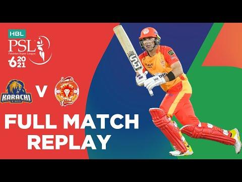 FULL MATCH REPLAY – Karachi Kings vs Islamabad United | Match 6 | HBL PSL 6