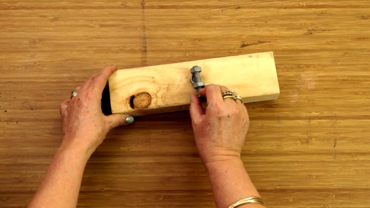 How To Adjust A Nut Using A Bolt - D.I.Y. At Bunnings - YouTube Aluminium Gl Sliding Doors Bunnings on