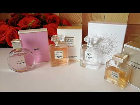Chanel ароматы, парфюмы-любимчики