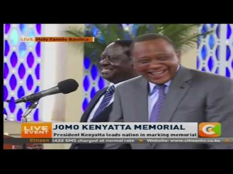 Raila' Speech at Mzee Jomo Kenyatta Memorial