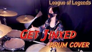 GET JINXED - League Of Legends/DRUM COVER (GANI DRUM) 리그오브레전드 징크스 테마곡