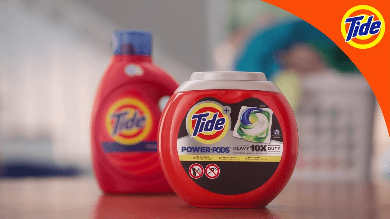 Tide | POWER PODS® One-up the Cleaning Power of Tide