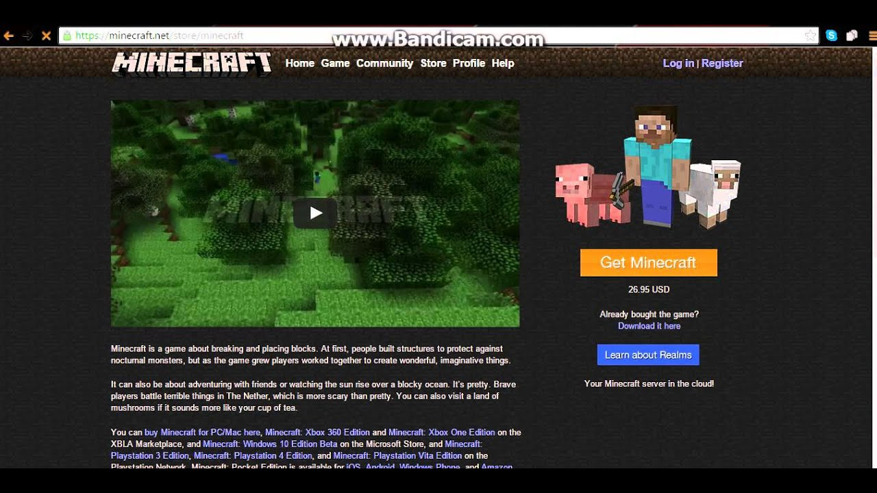 how to get a free cracked minecraft account