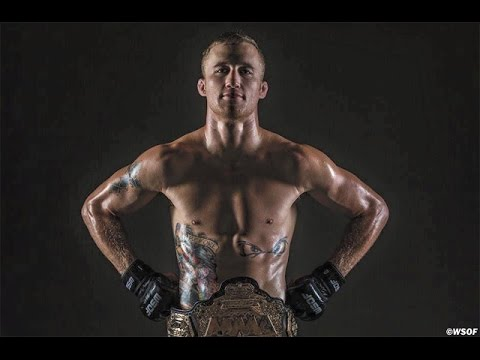 WSOF Champion Justin Gaethje. An example of talent outside the UFC