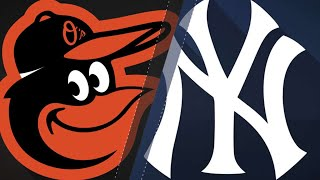 Yanks' bats overpowers the O's in 10-8 win: 9/21/18