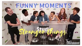 Stranger things cast Funny Moments: EMMY'S & COMIC CON 2017 (+ SUBITA)