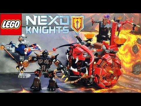 레고 70316 넥소나이츠 제스트로의 이블 디스트로이어 움직이는 성 조립 리뷰 Lego NEXO KNIGHTS Jestro's Evil Mobile