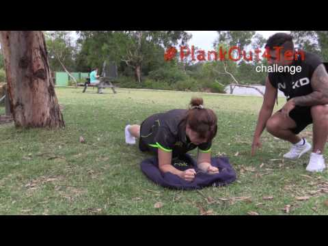 How to Plank - #Plankout4Ten challenge