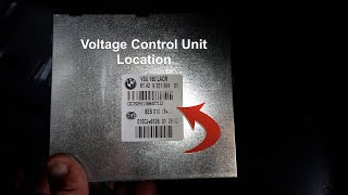 BMW F Series Voltage Converter Unit Location