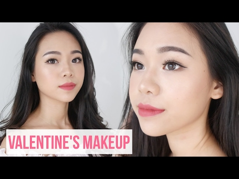 Beginner Valentine's Makeup & Hair using Drugstore and Local Brand