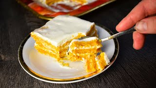 Морковный торт со сметанным кремом вкус детства Подробный пошаговый рецепт
