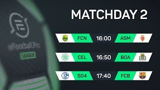 eFootball.Pro League - MATCHDAY 2