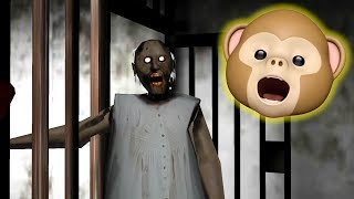 GRANNY LOCKED ME IN JAIL!! (Horror Game)