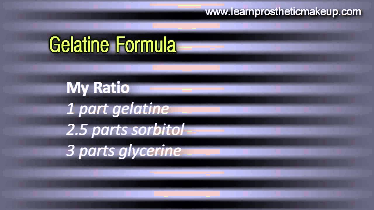 Making your own FX grade gelatine |