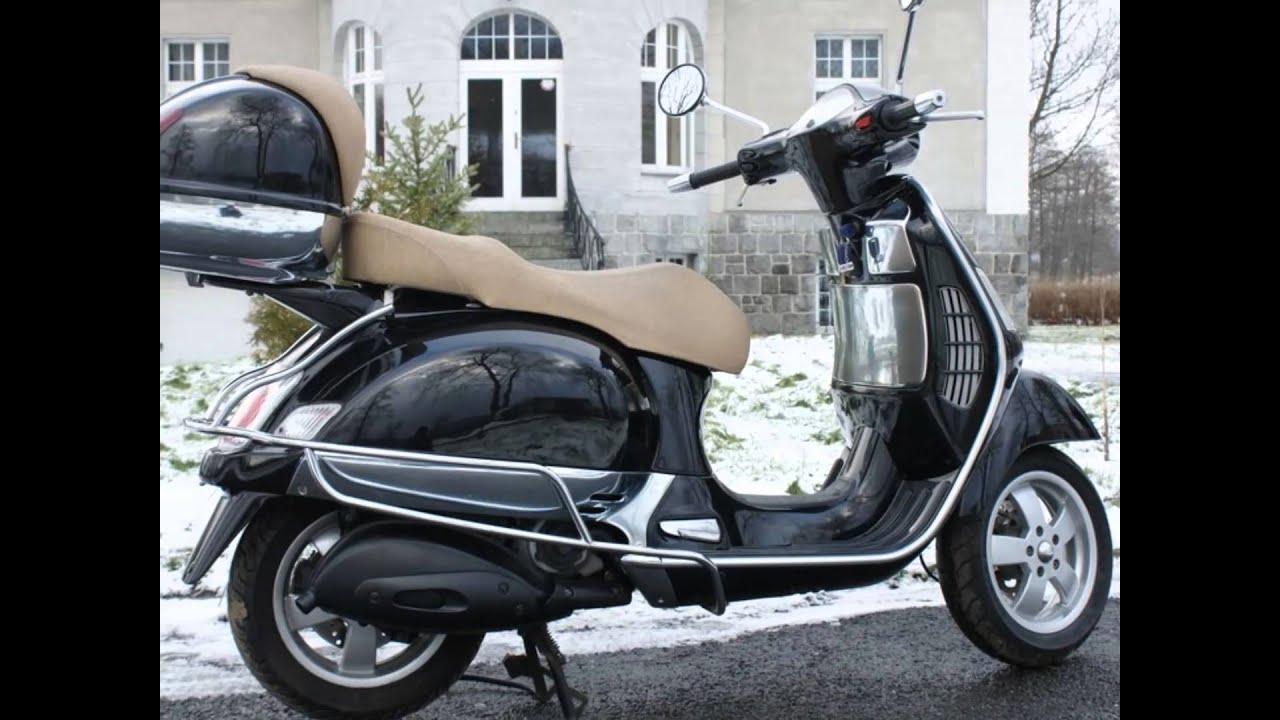 piaggio vespa 125 gt youtube. Black Bedroom Furniture Sets. Home Design Ideas