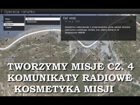 Arma 3 Edytor 5 tworzymy misje cz. 4 (komunikaty radiowe i wykończenie misji)