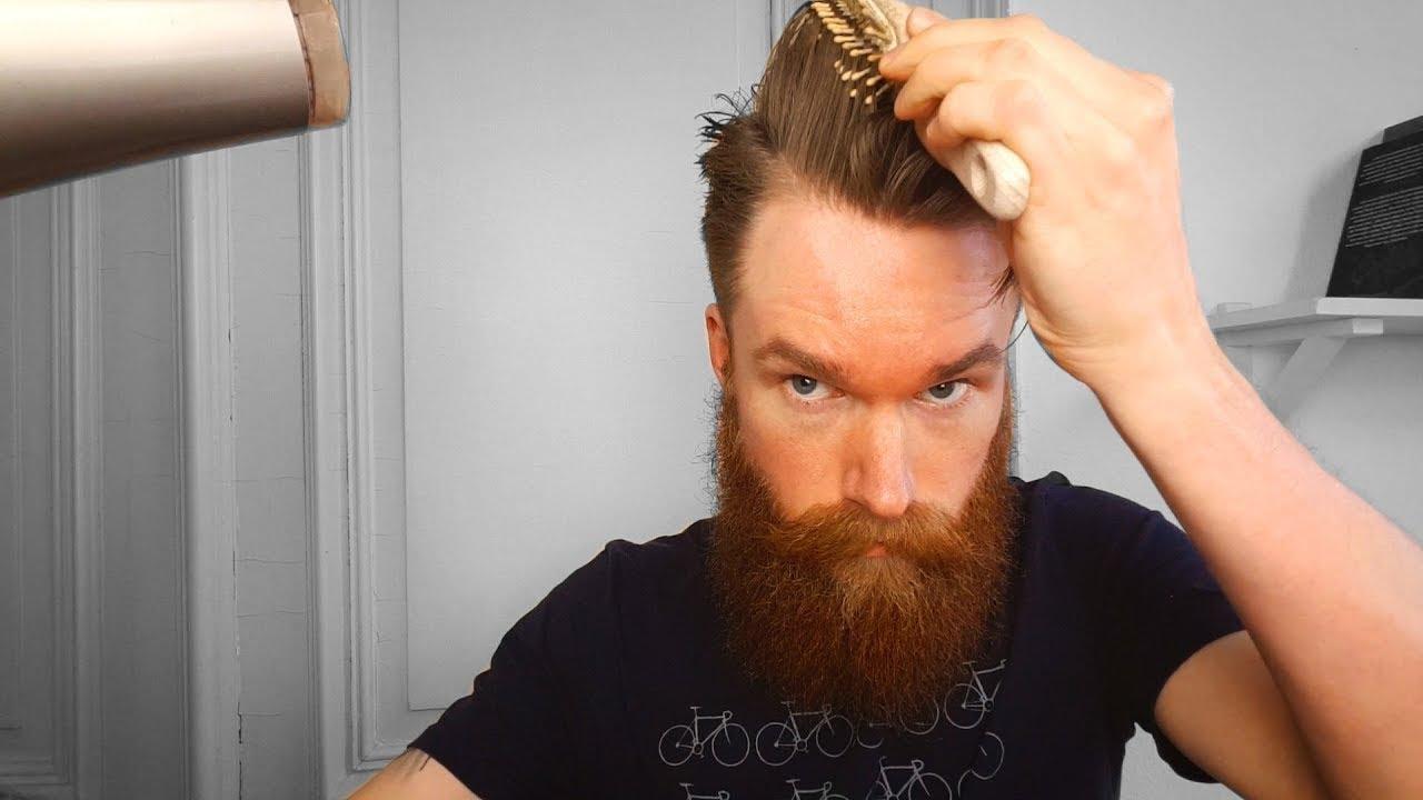 Männer Haarstyling Vier Pre Styler Für Volumen Kontrolle Und