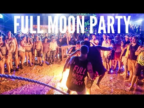 THE MOST EPIC FULL MOON PARTY EVER! (HD) // KOH PHANGAN DEC 2016