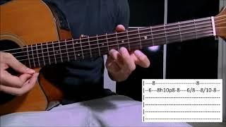 Zé da Recaída - Gusttavo Lima Aula Solo Violão (como tocar)