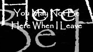 Alice In Chains - Got Me Wrong - Lyrics