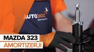 Zamenjavo Drzalo, vlezajenje stabilizatorja MAZDA 323: navodila za uporabo